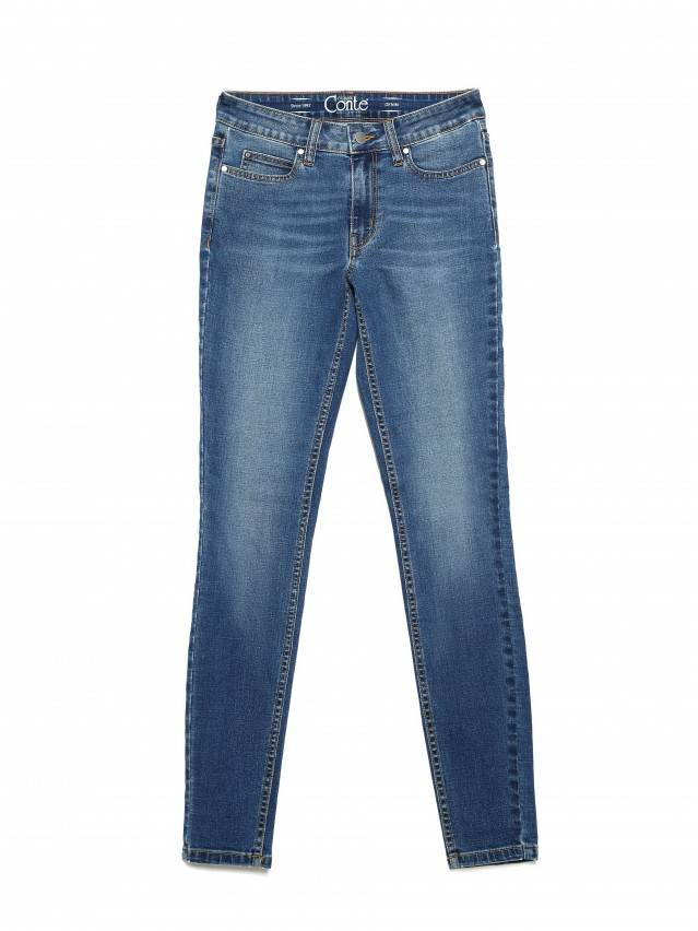 Denim trousers CONTE ELEGANT CON-182, s.170-102, authentic blue - 5