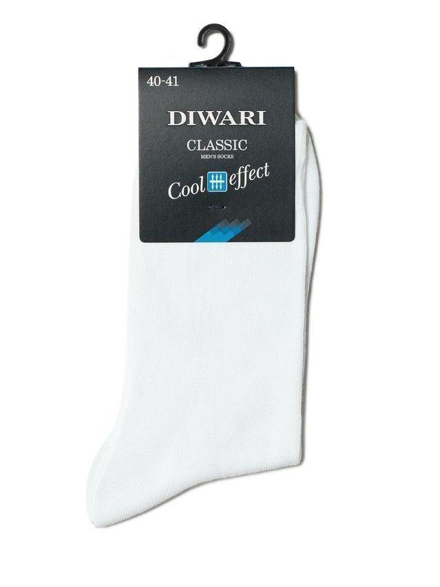 Men's socks DiWaRi CLASSIC COOL EFFECT, s. 40-41, 000 white - 2