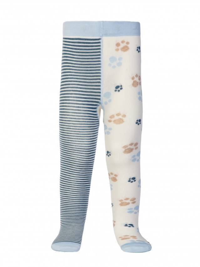 Children's tights CONTE-KIDS TIP-TOP, s.62-74 (12),356 milky-denim - 2