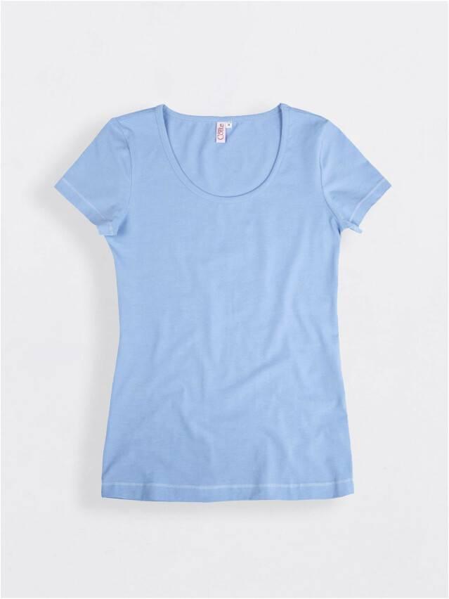 Women's polo neck shirt CONTE ELEGANT LD 525, s.158,164-100, blue - 1