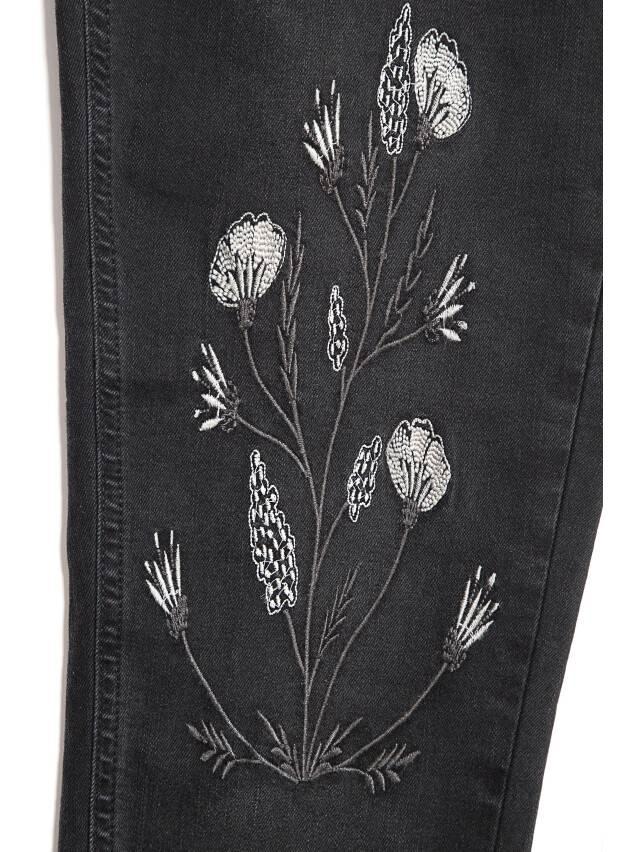 Denim trousers CONTE ELEGANT CON-100, s.170-102, black - 5