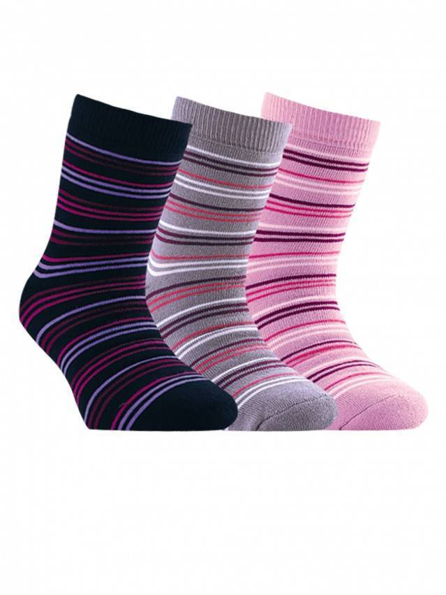 Children's socks CONTE-KIDS SOF-TIKI, s.22, 099 lilac - 1