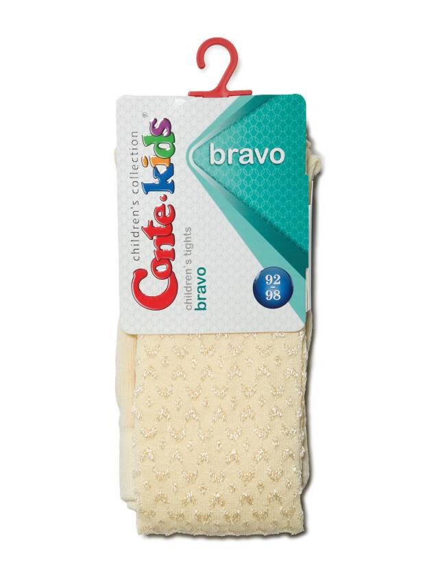 Children's tights CONTE-KIDS BRAVO, s.104-110 (16),371 cream - 2