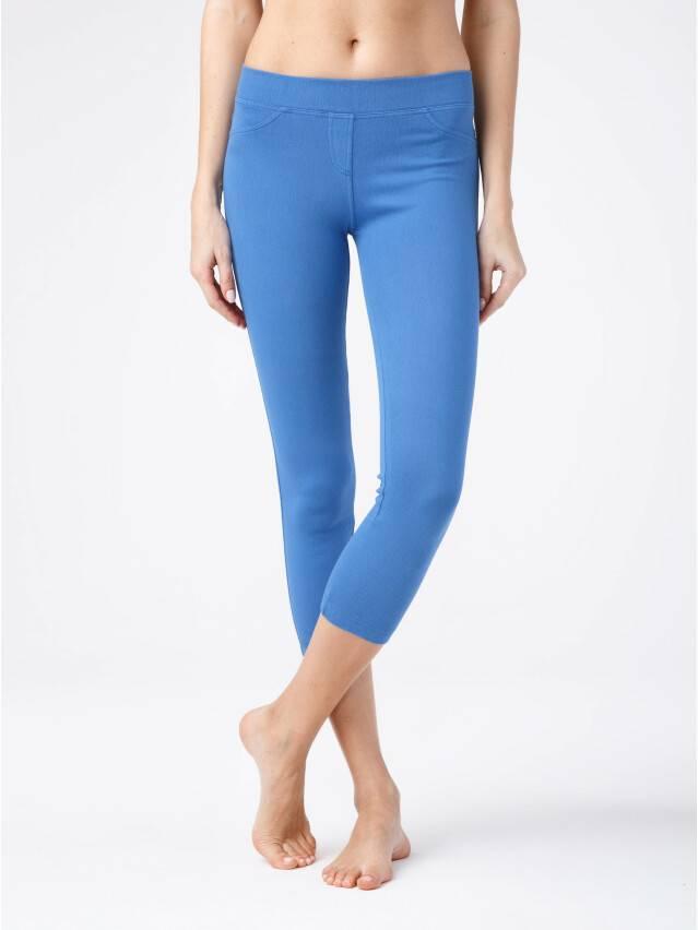 Women's knee pants CONTE ELEGANT MARTINA, s.164-102, blue - 1