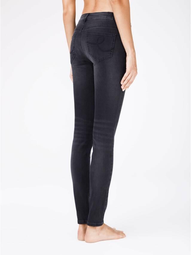 Denim trousers CONTE ELEGANT CON-100, s.170-102, black - 2