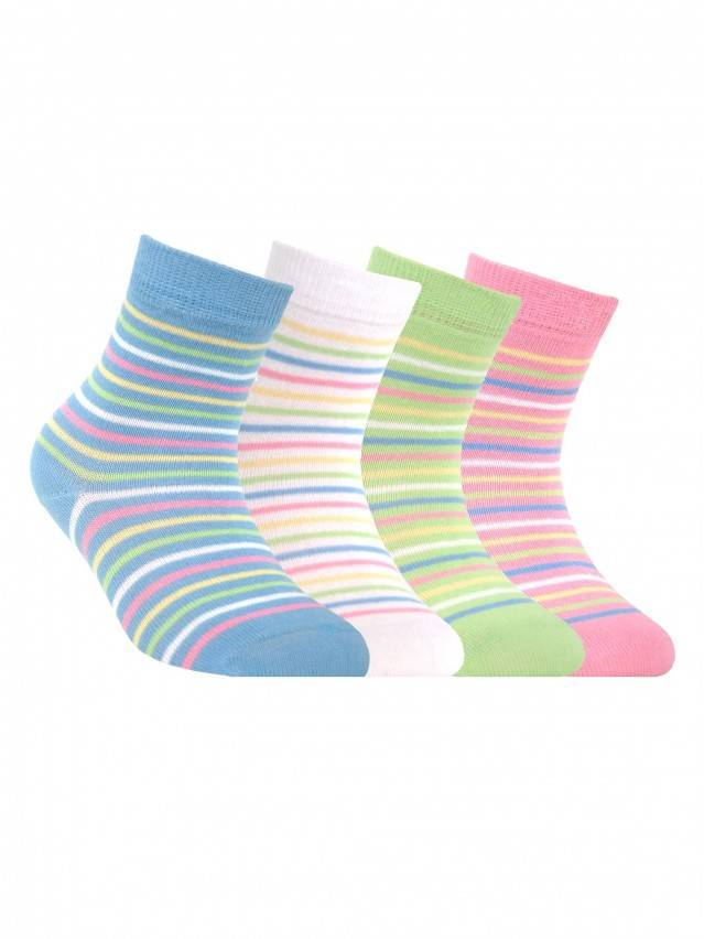 Children's socks CONTE-KIDS TIP-TOP, s.12, 076 light pink - 1