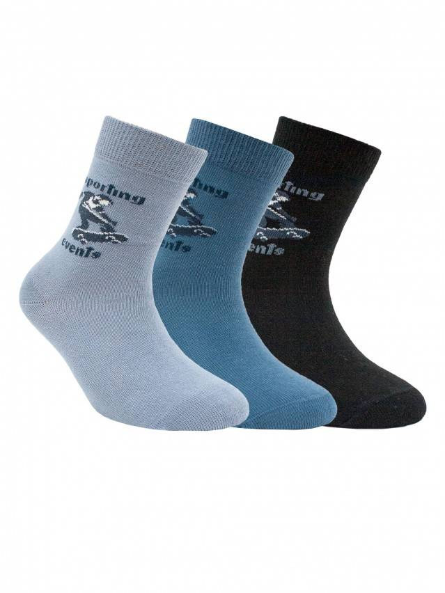 Children's socks CONTE-KIDS TIP-TOP, s.16, 181 denim - 1