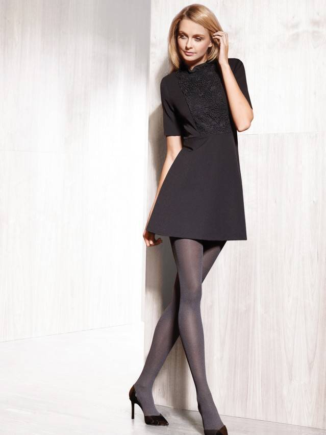Women's tights CONTE ELEGANT OFELIA, s.2, grafit - 2