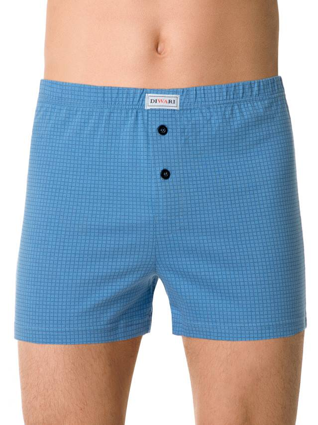 Men's pants DiWaRi BOXER MBX 001, s.102,106/XL, sky-blue - 1