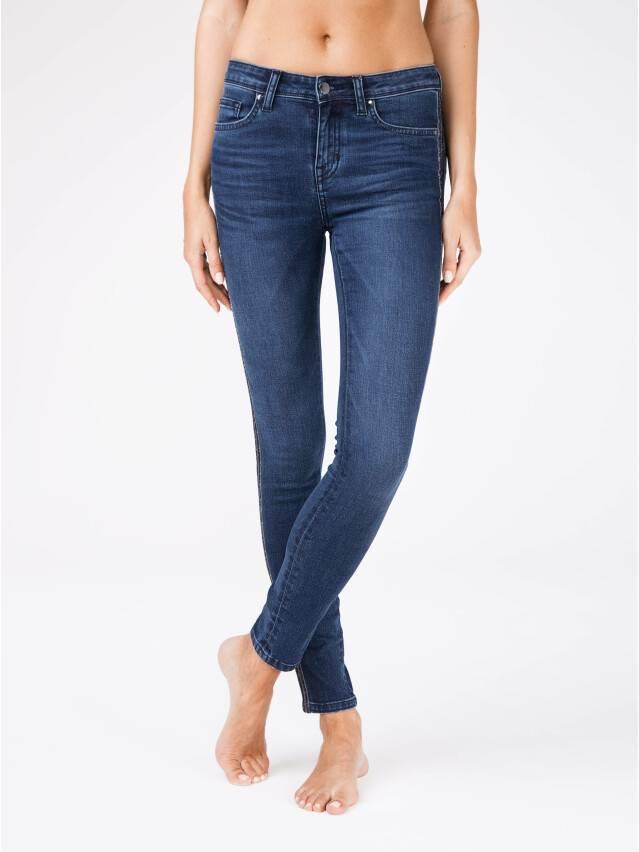 Denim trousers CONTE ELEGANT CON-99, s.170-90, navy - 1