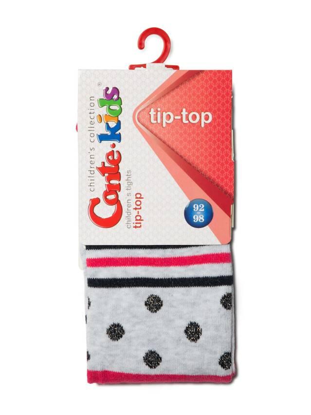 Children's tights CONTE-KIDS TIP-TOP, s.92-98 (14),408 light grey-raspberry pink - 2