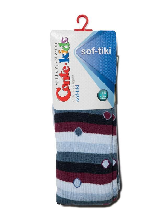 Children's tights CONTE-KIDS SOF-TIKI, s.116-122 (18),397 light blue - 2