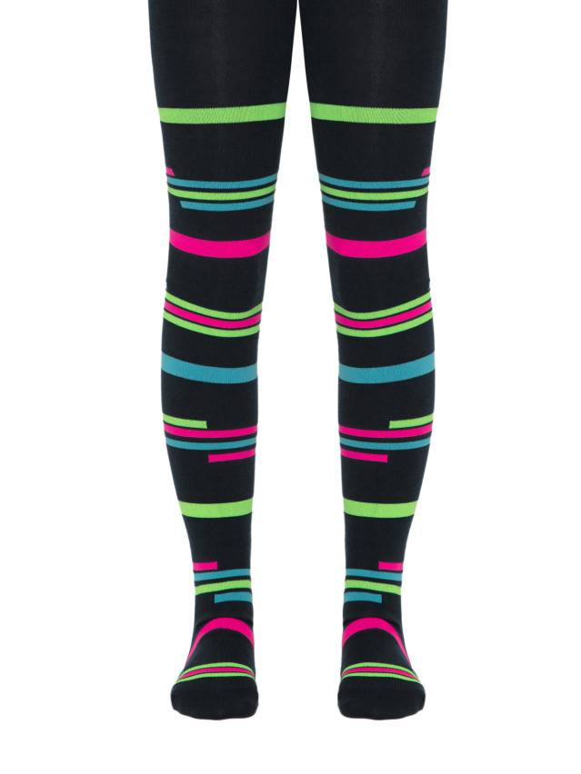 Children's tights CONTE-KIDS TIP-TOP, s.140-146 (22),123 black - 1