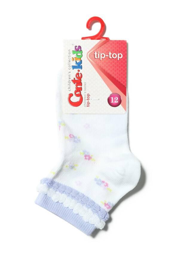 Children's socks CONTE-KIDS TIP-TOP, s.12, 189 white - 2