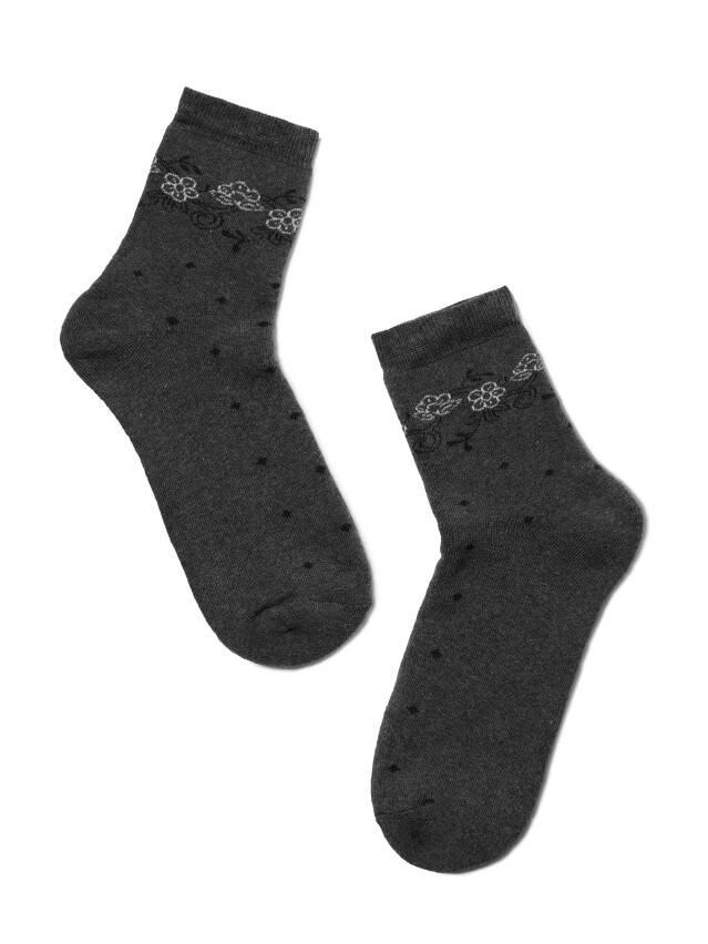 Women's socks CONTE ELEGANT COMFORT, s.23, 034 dark grey - 2