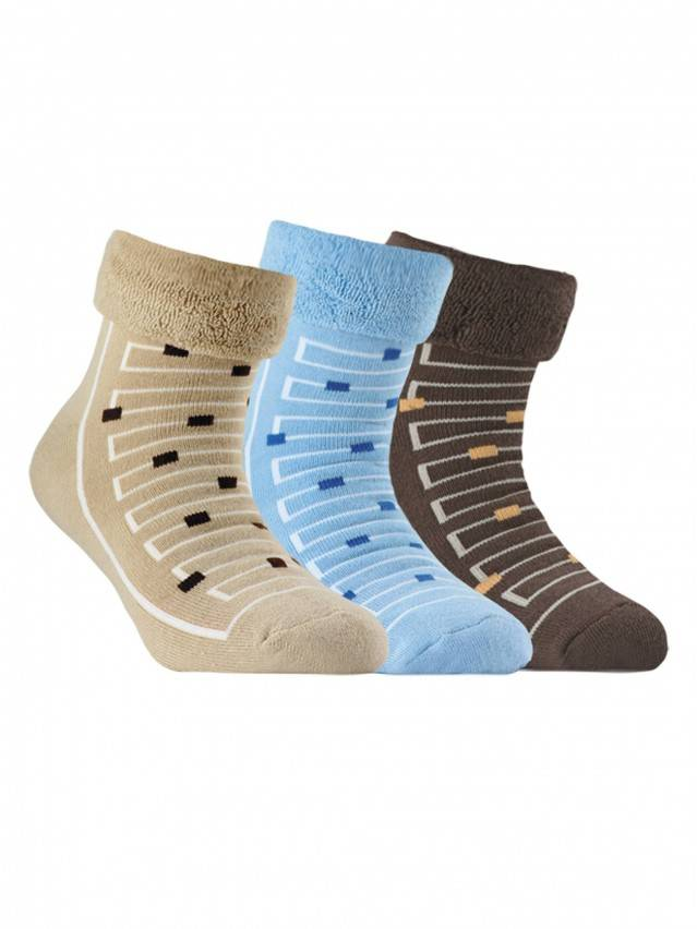 Children's socks CONTE-KIDS SOF-TIKI, s.22, 046 blue - 1