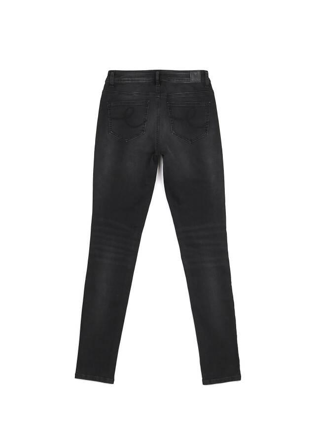 Denim trousers CONTE ELEGANT CON-100, s.170-102, black - 4