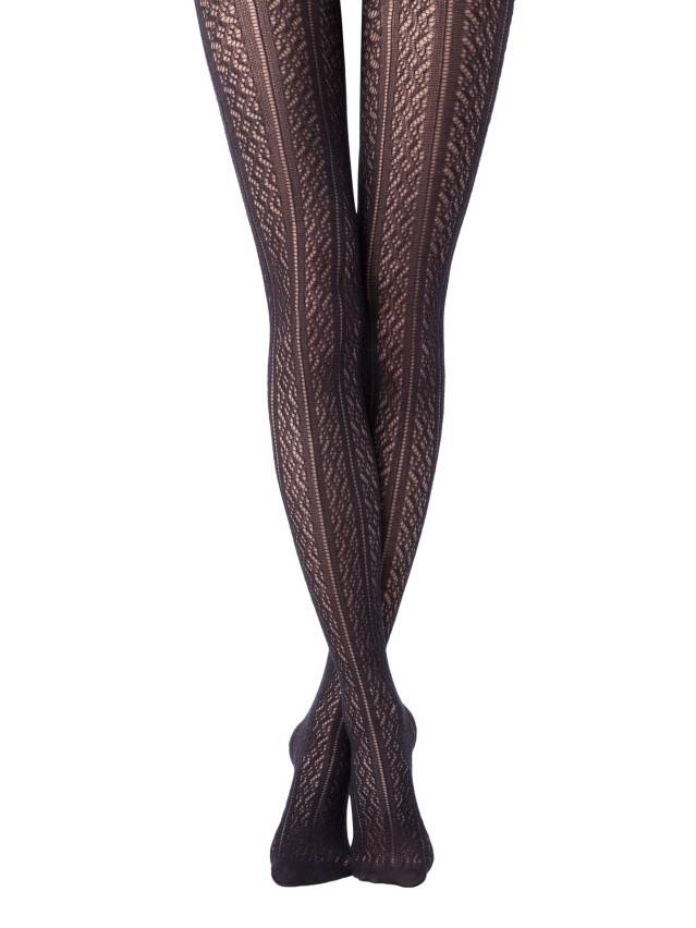 Women's tights CONTE ELEGANT STYLE, s.2, nero - 1