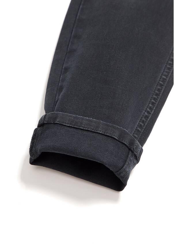 Denim trousers CONTE ELEGANT CON-97, s.170-102, black - 8