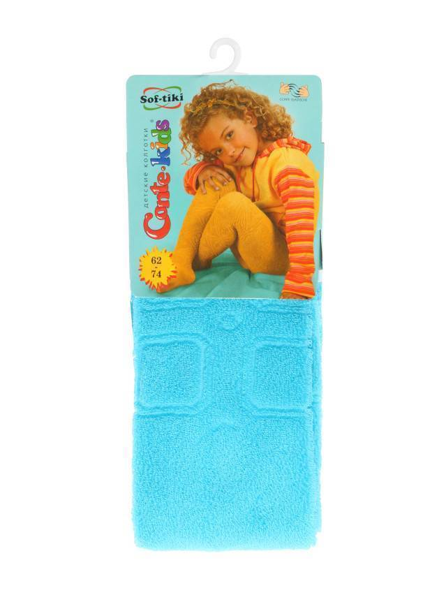 Children's tights CONTE-KIDS SOF-TIKI, s.62-74 (12),150 turquoise - 1