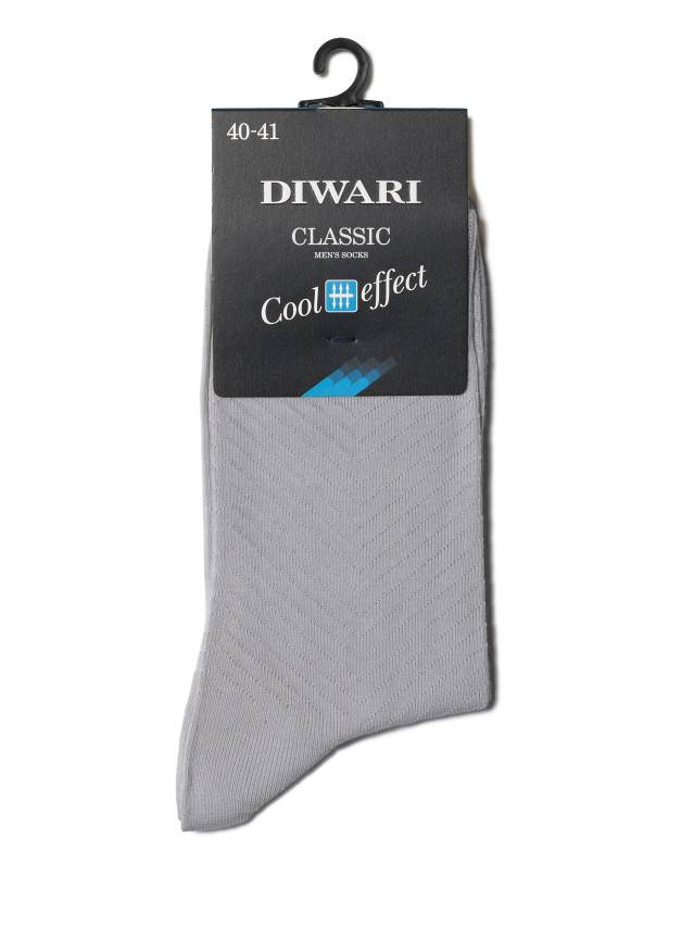 Men's socks DiWaRi CLASSIC COOL EFFECT, s. 40-41, 010 grey - 2