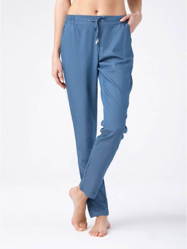 Women's trousers CONTE ELEGANT MANIA, s.164-64-92, denim - 1