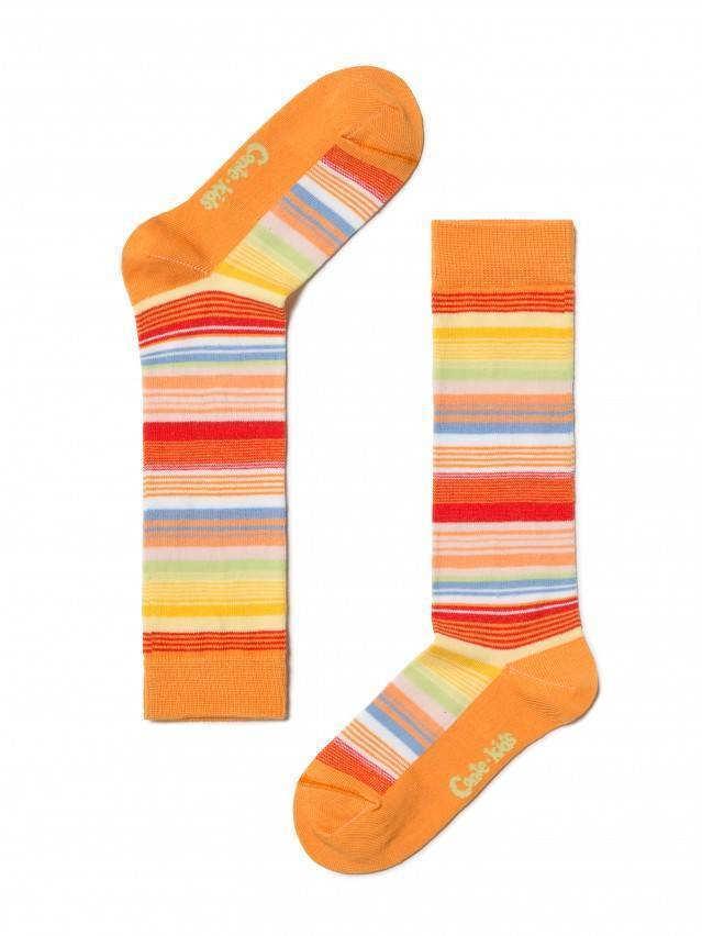 Children's knee high socks CONTE-KIDS TIP-TOP, s.16, 024 orange - 1