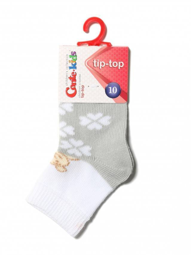 Children's socks CONTE-KIDS TIP-TOP, s.10, 219 grey - 2