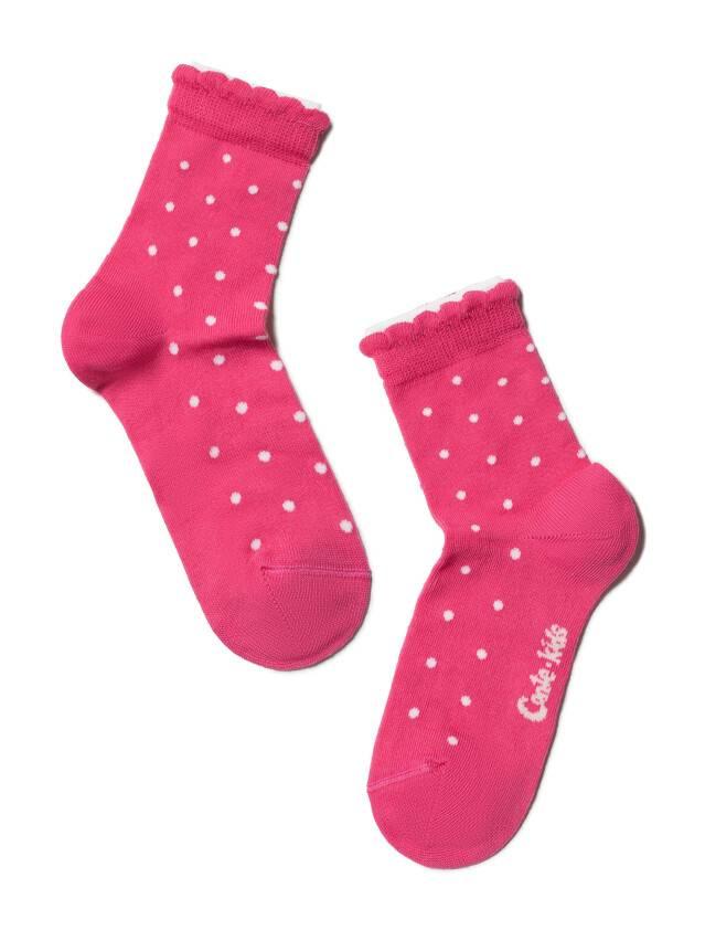 Children's socks CONTE-KIDS TIP-TOP (2 pairs),s.12, 705 white-pink - 3