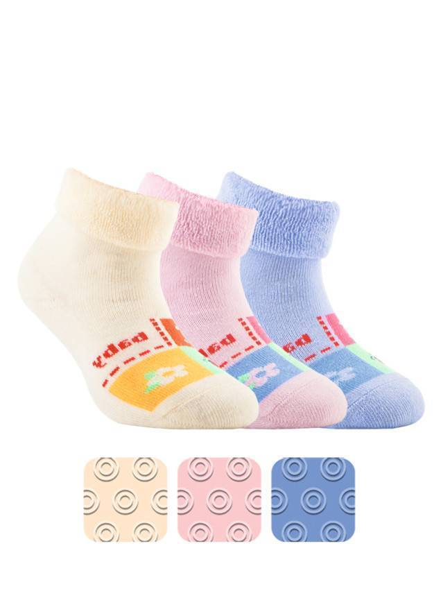 Children's socks CONTE-KIDS SOF-TIKI, s.12, 104 pale violet - 1