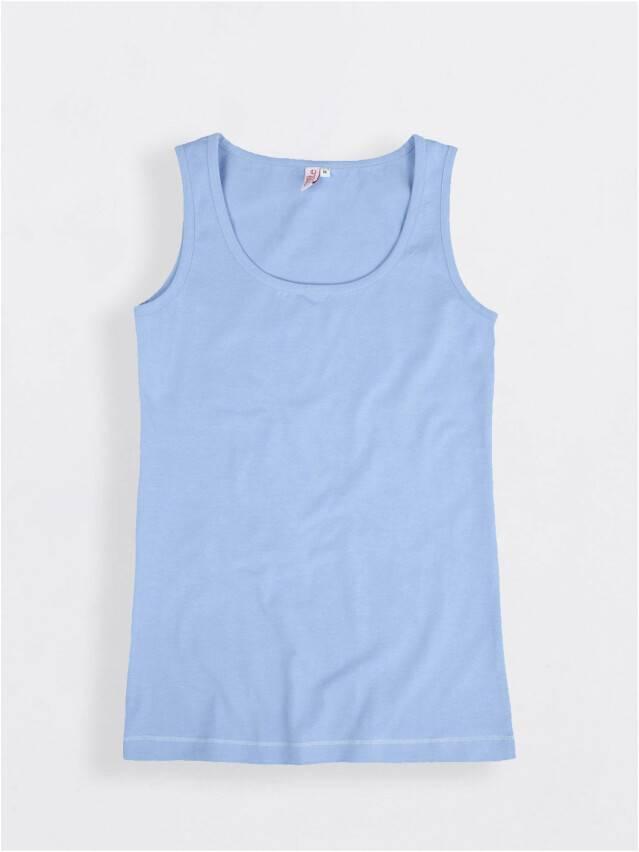 Women's polo neck shirt CONTE ELEGANT LD 526, s.158,164-100, blue - 1