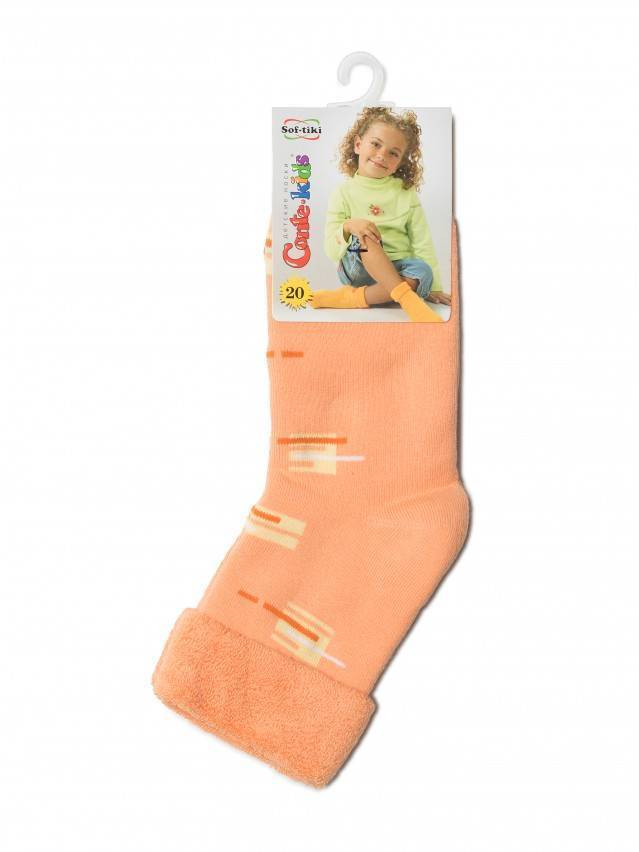 Children's socks CONTE-KIDS SOF-TIKI, s.20, 047 peach - 2