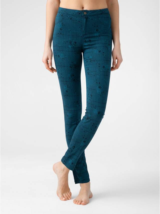 Women's trousers CONTE ELEGANT TEONA, s.164-64-92, blue - 1
