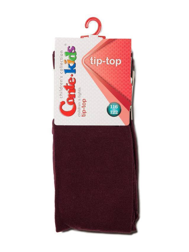 Children's tights CONTE-KIDS TIP-TOP, s.116-122 (18),000 maroon - 2