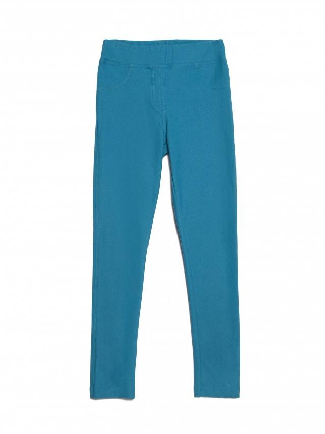 Leggings for girls CONTE ELEGANT ALBA, s.122,128-64, sea-green - 3