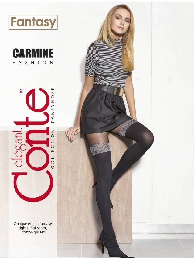 Women's tights CONTE ELEGANT CARMINE, s.2, grafit - 2