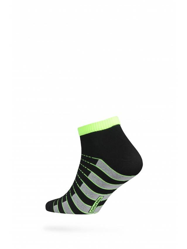 Men's socks DiWaRi ACTIVE, s. 40-41, 067 black-lettuce green - 2