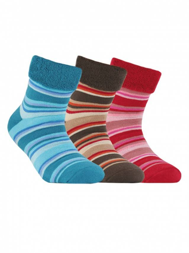Children's socks CONTE-KIDS SOF-TIKI, s.20, 055 dark turquoise - 1
