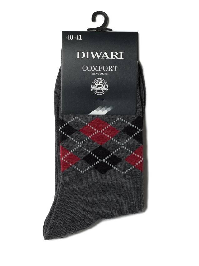 Men's socks DiWaRi COMFORT, s. 40-41, 015 dark grey - 2