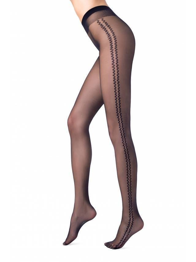 Women's tights CONTE ELEGANT BLISS, s.2, nero - 1