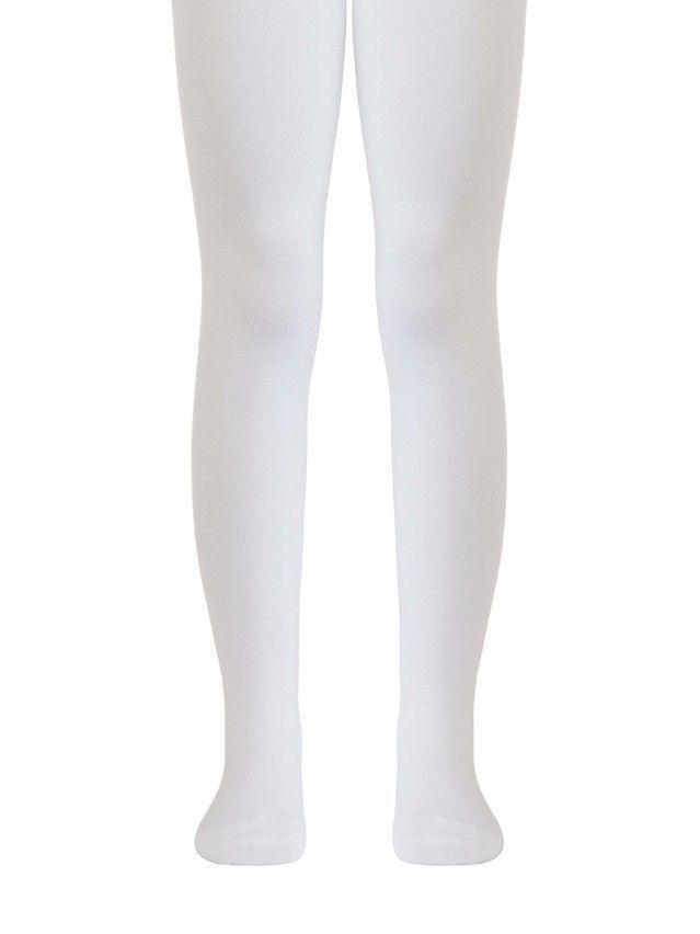 Children's tights CONTE-KIDS TIP-TOP, s.104-110 (16),000 white - 1