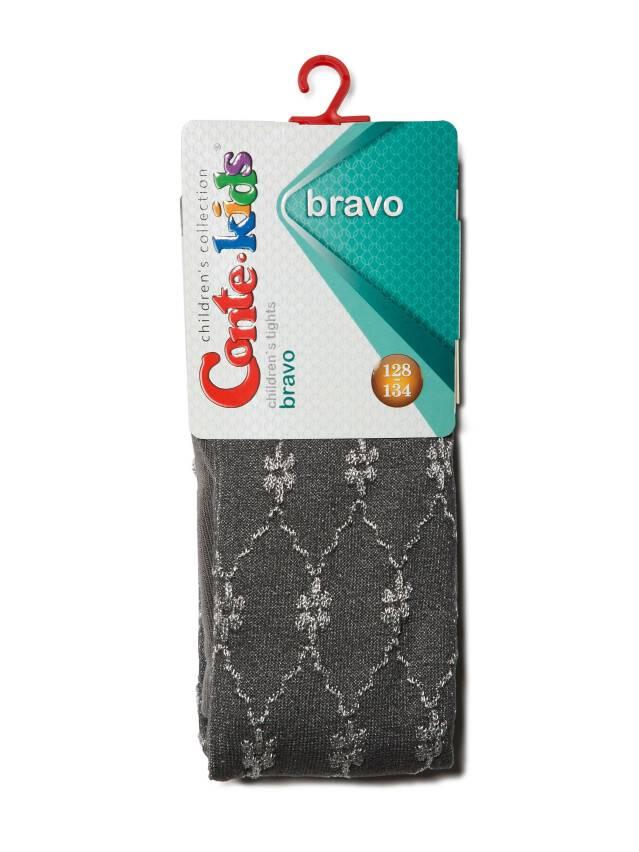 Children's tights CONTE-KIDS BRAVO, s.116-122 (18),375 dark grey - 2