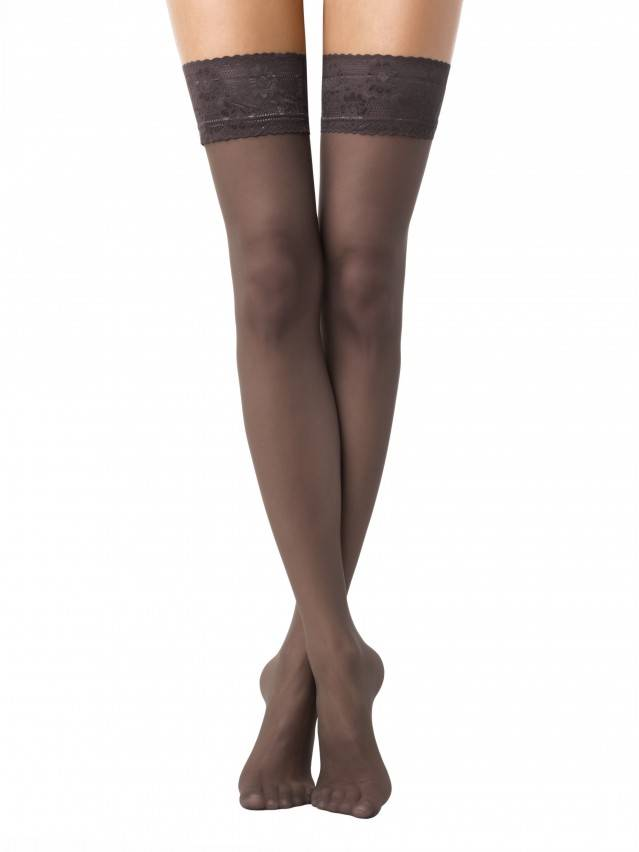Women's stockings CONTE ELEGANT CLASS 40, s.23-25 (1/2),shade - 1