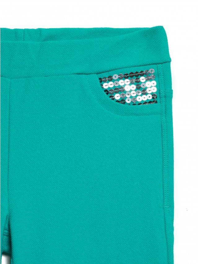 Leggings for girls CONTE ELEGANT PINA, s.110,116-56, green - 5
