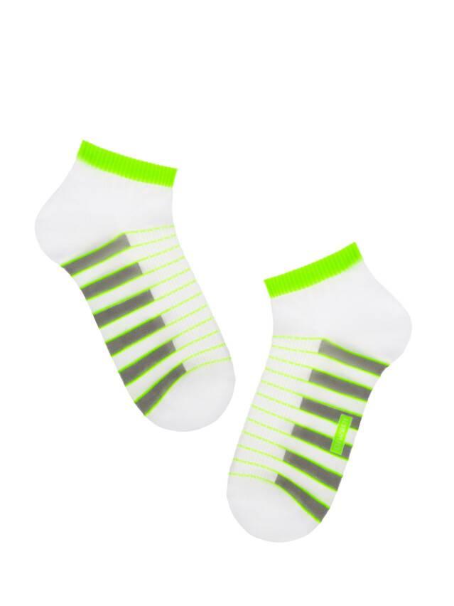 Men's socks DiWaRi ACTIVE, s. 40-41, 067 white-lettuce green - 1