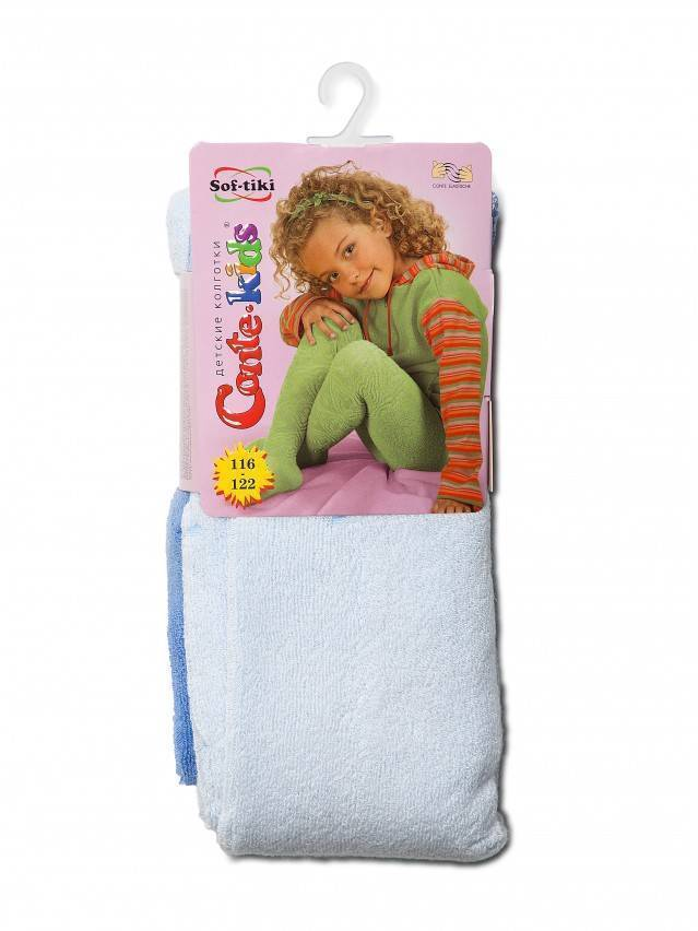Children's tights CONTE-KIDS SOF-TIKI, s.116-122 (18),255 light blue - 2