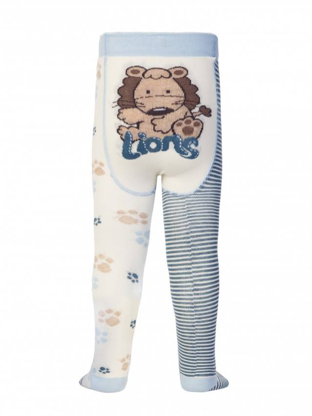 Children's tights CONTE-KIDS TIP-TOP, s.62-74 (12),356 milky-denim - 1