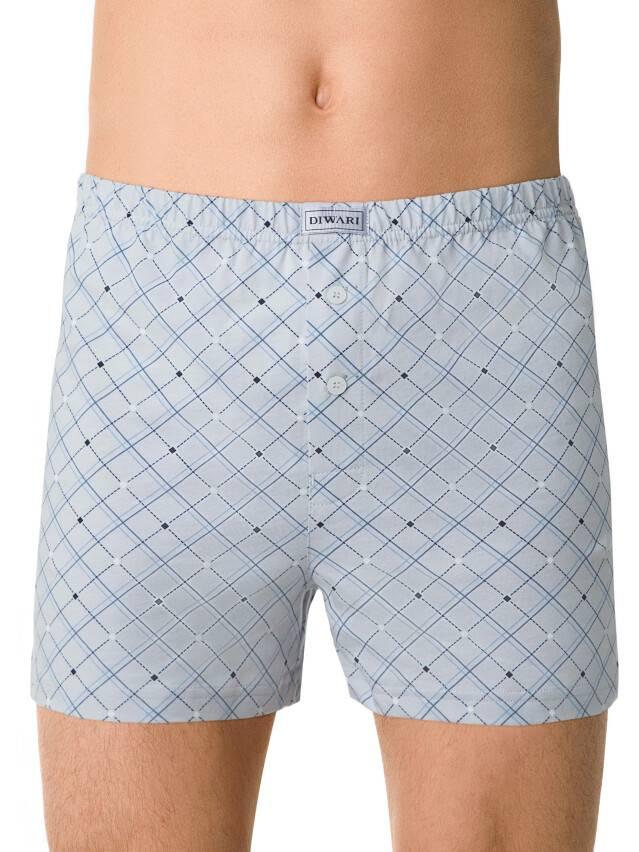 Men's pants DiWaRi BOXER MBX 001, s.102,106/XL, light grey - 1