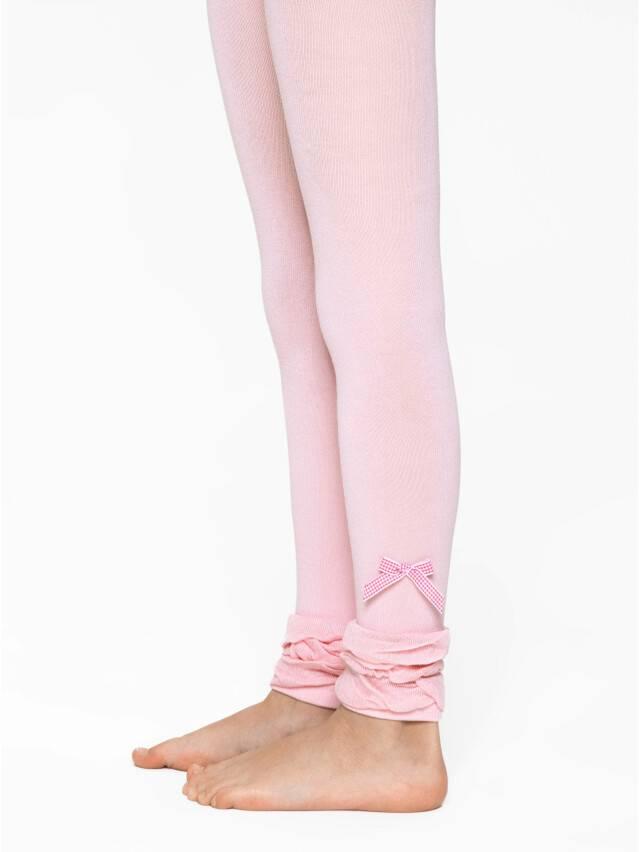 Leggings for girls CONTE-KIDS VIVA, s.116-122, 000 lettuce green - 1