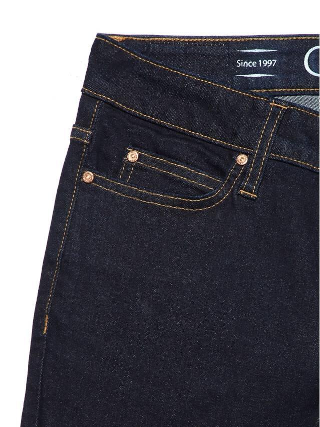 Denim trousers CONTE ELEGANT CON-183, s.170-102, indigo - 7